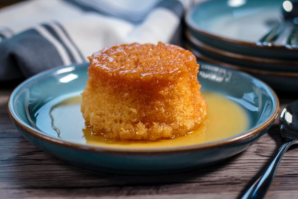 Slow Cooker Syrup Sponge Pudding