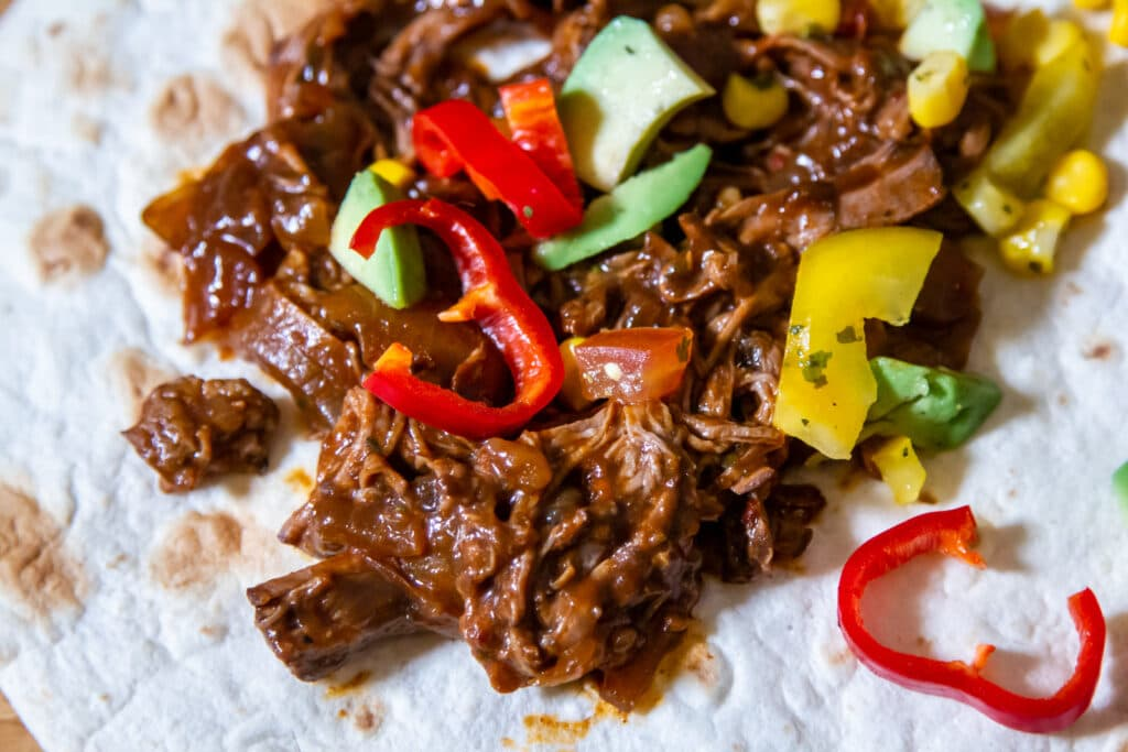 Slow Cooker Spicy Beef Tacos