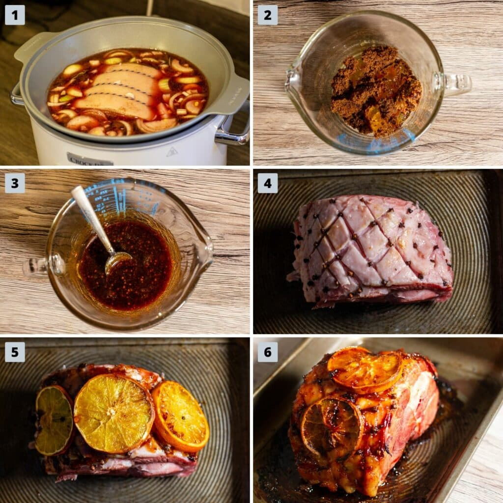 Steps to Cook Cranberry and Orange Gammon