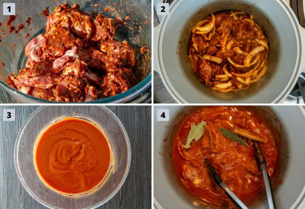 Steps to make the perfect Lamb Rogan Josh curry